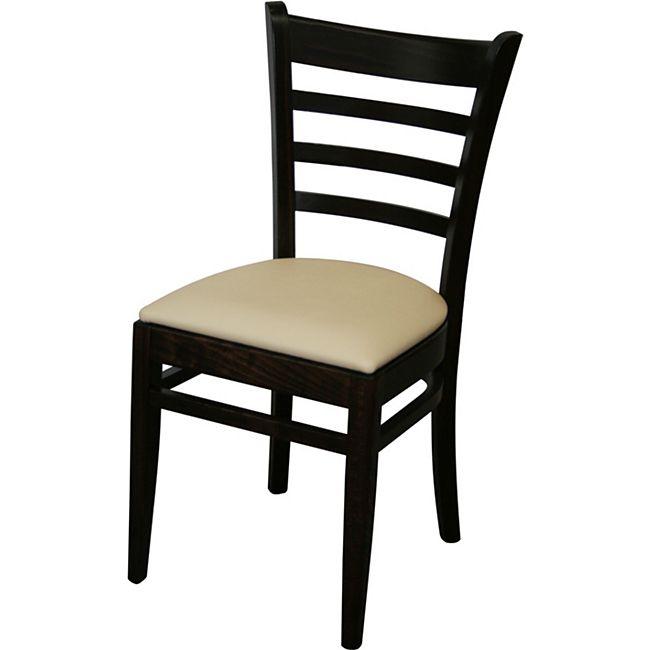 8x KONWAY Indoor Holz Stuhl Set STEP Stapelstuhl Gastronomie Objektstuhl Stühle - Bild 1