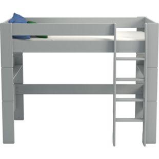 Molly Kids Kinderbett 90x200 Kinderzimmer Holz Bett Einzelbett Bettgestell grau - Bild 1