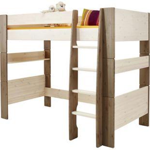 Molly Kids Kiefer Kinderbett 90x200 Kinderzimmer Holz Bett Einzelbett weiss - Bild 1