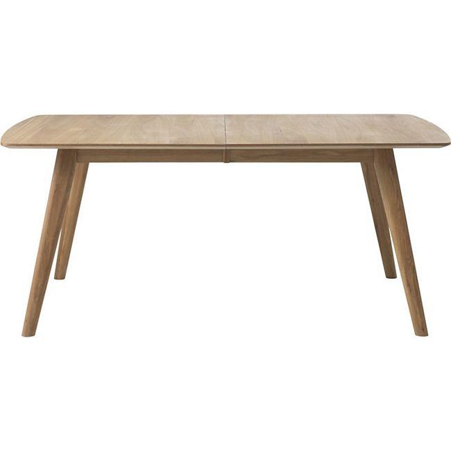 Esszimmertisch Rhoda 90x150195 Küchentisch Esstisch Holz Tisch ausziehbar