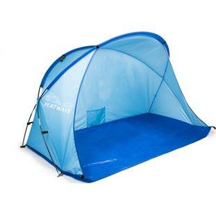 Strandmuschel 165cm Strand Zelt Sonnenschutz Windschutz Sichtschutz  UV 60 - Bild 1