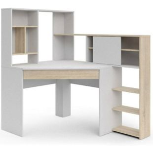 Schreibtisch Fula Eiche Struktur Dekor Tisch Bürotisch Computer Computertisch - Bild 1