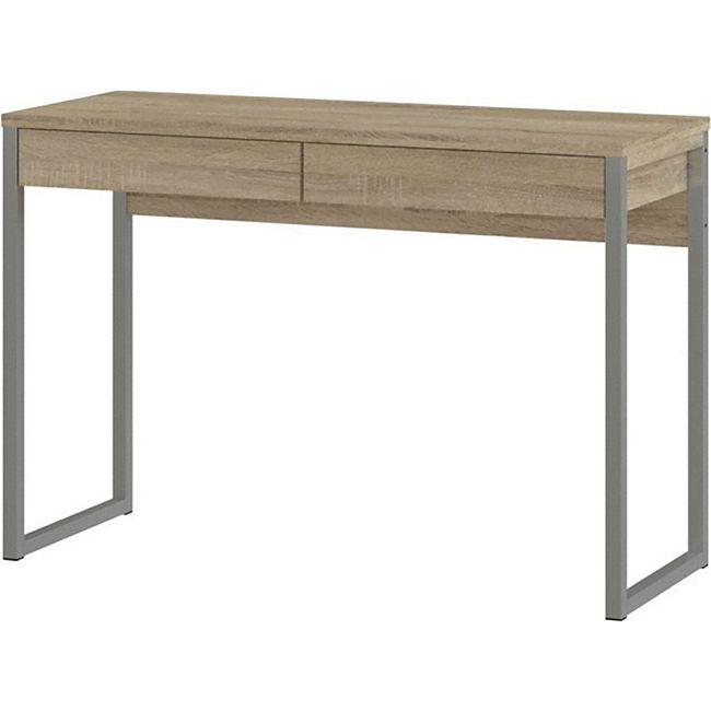Schreibtisch Fula Eiche Struktur Dekor Tisch Bürotisch Computertisch Büro - Bild 1