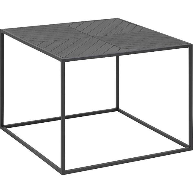 Couchtisch Orcean 60x60 cm schwarz Sofa Wohnzimmer Tisch Ablage Beistelltisch - Bild 1