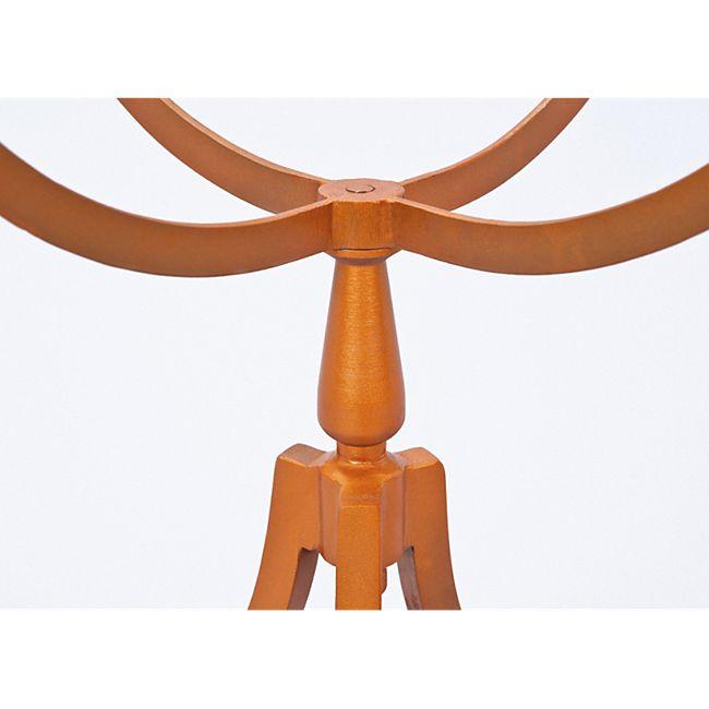 Couchtisch Sokas kupfer Metall Glas Sofa Wohnzimmer Tisch Ablage Beistelltisch - Bild 1