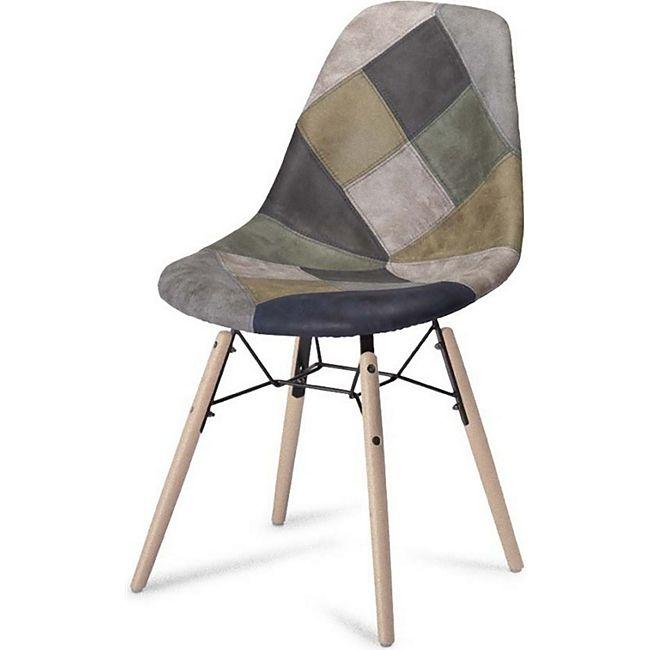 2x Esszimmerstuhl Sue blau Stuhlset Stühle Esszimmer Schalensessel Küchenstuhl - Bild 1
