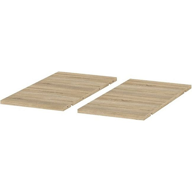 2x Zusatzplatte für Esstisch Venedig Eiche Struktur Dekor Küchentisch Tisch - Bild 1