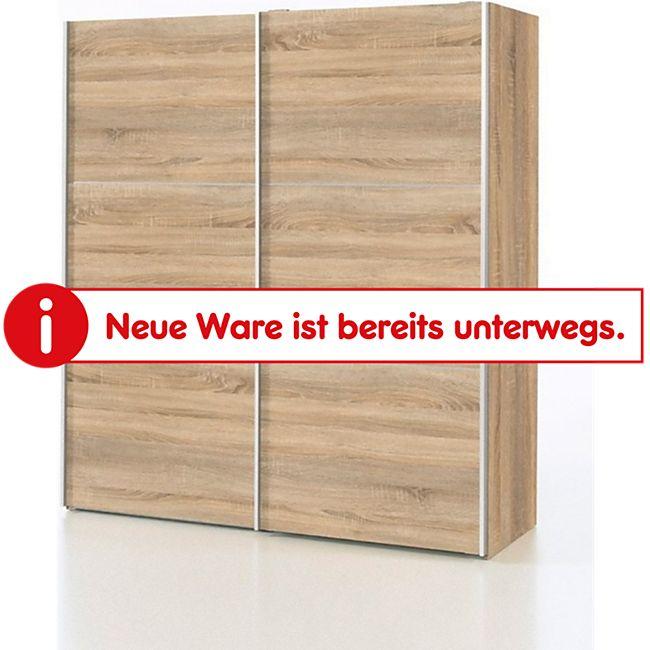 Kleiderschrank Veto Schlafzimmer Schrank Drehtürenschrank Eiche Struktur Dekor - Bild 1