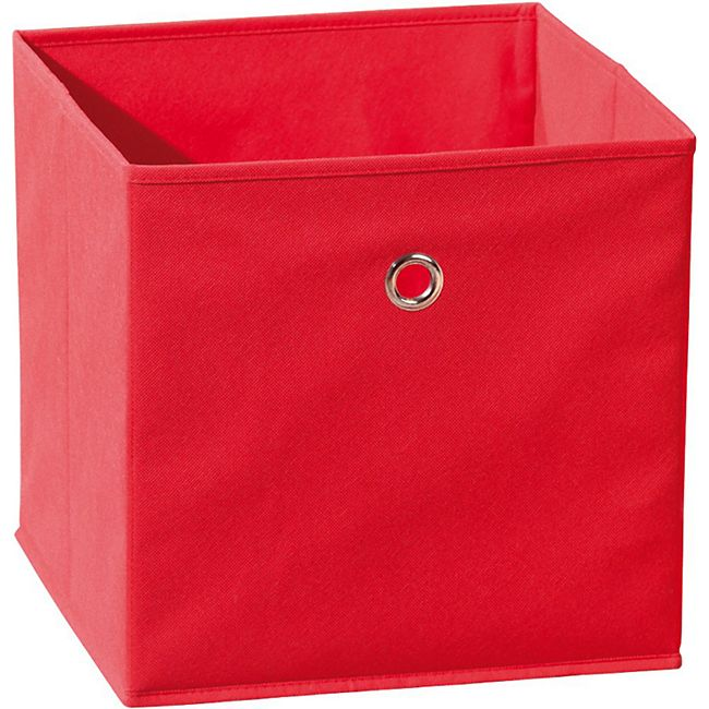 Aufbewahrungsbox Wase rot Faltbox Faltkiste Box Kiste Staubox Regal Kiste Korb - Bild 1