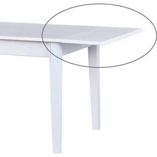 Zusatzplatte für Esstisch Wright Massivholz weiss Esszimmer Küche Tisch - Bild 1