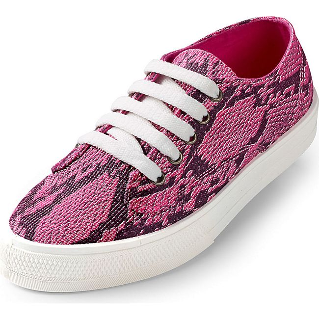 Damen Casual Sneaker pink Glitzer - Bild 1
