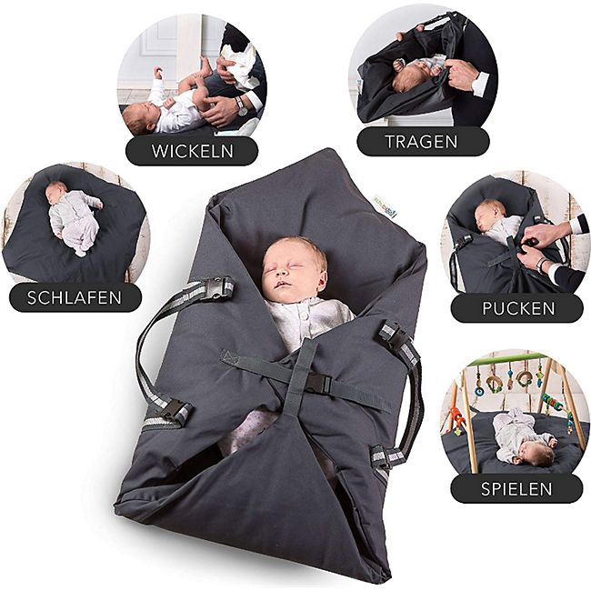 Schubidoo baby's bag in grau - Bild 1