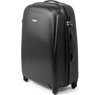 MasterGear ABS Reisekoffer TSA Schloss 68L Hartschale Koffer Trolley schwarz - Bild 1