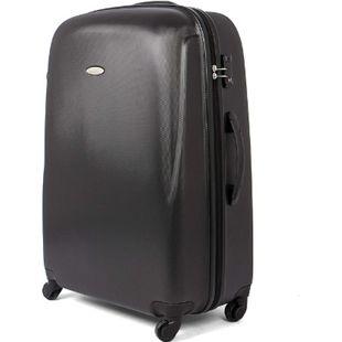 MasterGear ABS Reisekoffer TSA Schloss 100L Hartschale Koffer Trolley schwarz - Bild 1