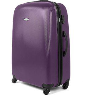 MasterGear ABS Reisekoffer TSA Schloss 100L Hartschale Koffer Trolley violett - Bild 1