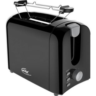 elta Cool Touch 2-Scheiben Toaster Brötchenaufsatz Toast Toastautomat auftauen - Bild 1