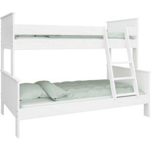 Etagenbett Oscar + Lattenrost 90x200 Hochbett 3 Pers. Kinderbett Bett Spielbett - Bild 1