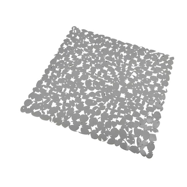 PVC Antirutsch Matte 52x52cm Steinoptik Duschmatte - Bild 1