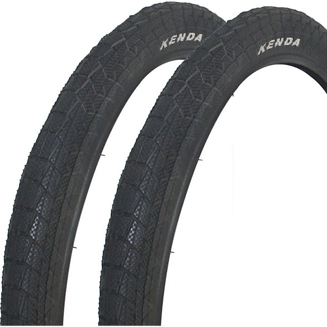 2x KENDA Krackpot BMX Fahrrad Reifen 20 x 1,95  Decke Mantel Fahrradreifen - Bild 1