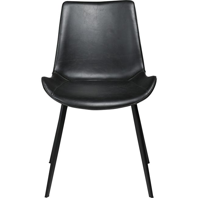 2x Esszimmerstuhl Kunstleder Esszimmer Küchenstuhl Stuhl Stühle Set schwarz - Bild 1