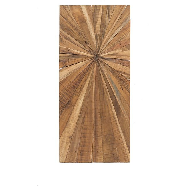 Holz Wandbild 100cm Bild Relief Wanddeko Massivholz Handarbeit Relief Dekoration - Bild 1