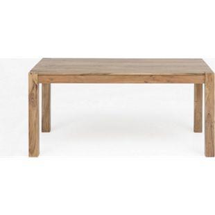 Design Esstisch Akazie massiv 160x90 Tisch Küchentisch Holztisch Esszimmer Holz - Bild 1