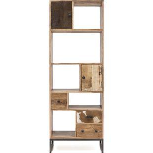 Bücherregal Akazie Standregal Regal Raumteiler Holz Raumtrenner Schrank Unikat - Bild 1