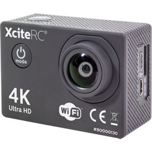 XciteRC WiFi 4K Action Cam UHD 16MP schwarz Sport Kamera - Bild 1