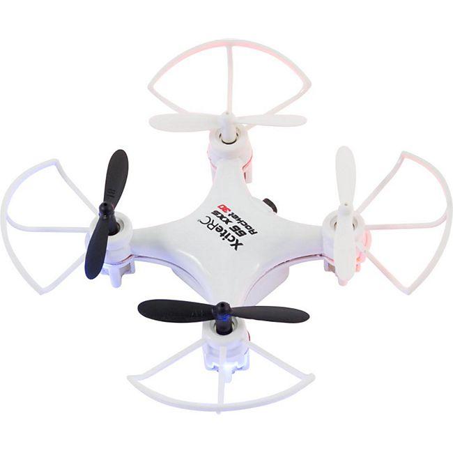 Rocket 55XXS 3D 4 Kanal RTF Quadrocopter weiß V2 3-Speed  Schutzbügel - Bild 1