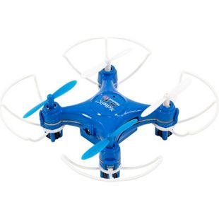 Rocket 55XXS 3D Cam 4 Kanal RTF Kamera-Quadrocopter blau V2 3-Speed  Schutzbügel - Bild 1