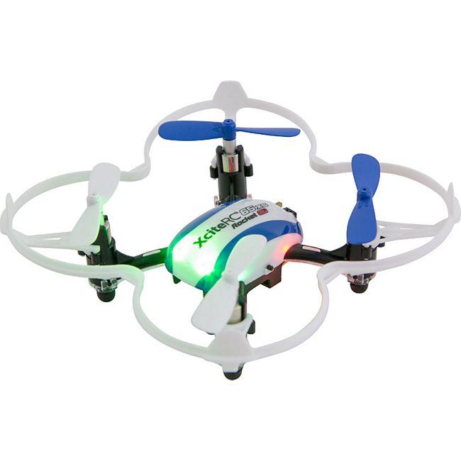 Rocket 65XS 3D 4 Kanal RTF Quadrocopter blau weiß - Bild 1