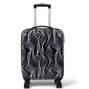 MasterGear ABS Reisekoffer 36L Handgepäck Koffer Trolley Hartschale Reisegepäck - Bild 1