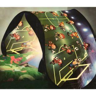 Sleepfun Fussball Pop Up Tunnel Zelt Spieltunnel Höhle Traumzelt Hochbett Bett - Bild 1