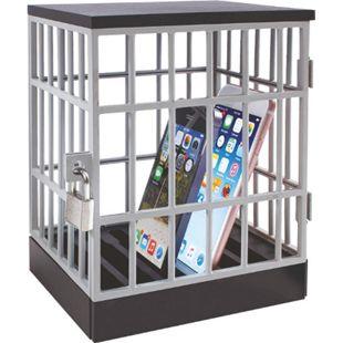 Handykäfig inkl. Schloss Schlüssel Gefängnis Handy Smartphone Käfig Zelle Jail - Bild 1