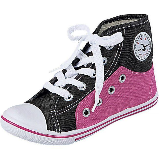 Mädchen Canvas Schuhe Gr. 32 Kinder Leinenschuhe Sneaker Freizeitschuhe pink - Bild 1