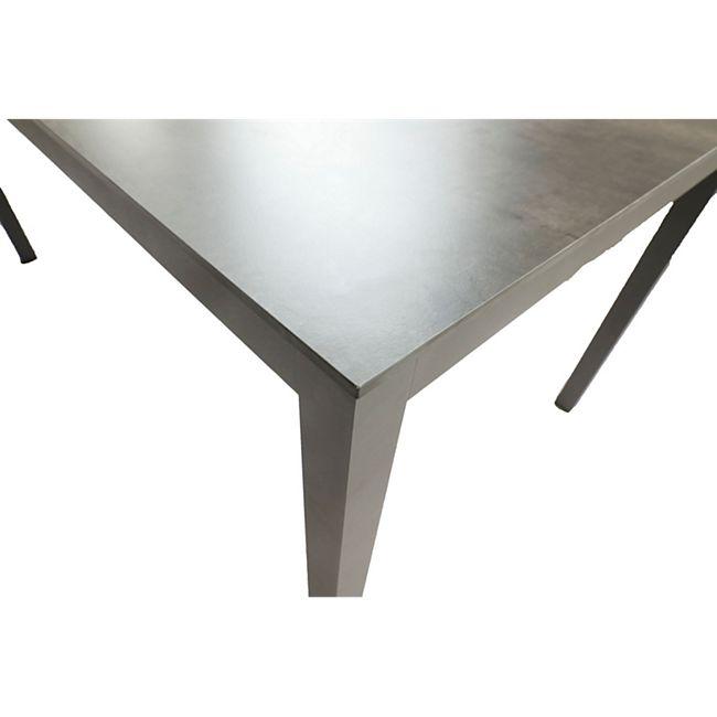 Alu Garten Tisch 158cm Gartentisch Aluminium Terrasse Esstisch Balkon Anthrazit Online Kaufen Bei Netto