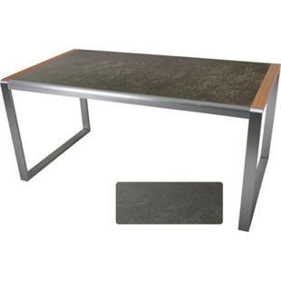 Gartentisch 160x90cm Terrassentisch Balkontisch Esstisch Gartenmöbel Tisch - Bild 1