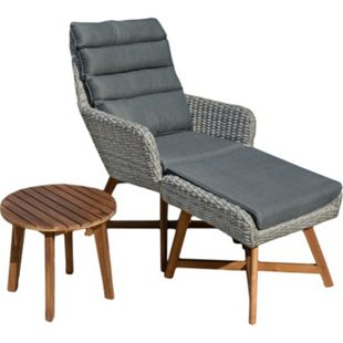 Sitzgarnitur Sitzgruppe Holz Garten Lounge Set Gartenmöbel Massiv Tisch Sofa - Bild 1