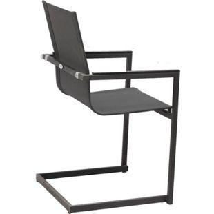 5tlg. Metall Garden Pleasure Sitzgruppe Tisch Esstisch Stuhl Stühle Sessel - Bild 1