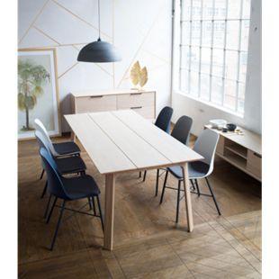 Esstisch Vims 95x150 cm Eiche Dekor Küchentisch Funktionstisch Holztisch Tisch - Bild 1