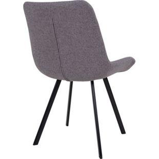 2x Kunstleder Esszimmerstuhl Drew schwarz Stuhl Set Stühle Sessel Küchenstuhl - Bild 1