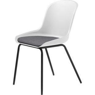 2x Esszimmerstuhl Tom weiss Stuhl Set Stühle Sessel Küchenstuhl Polsterstuhl - Bild 1