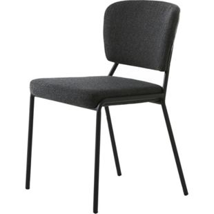 2x Esszimmerstuhl Brass grau Stuhl Set Stühle Stuhl Küchenstuhl Polsterstuhl - Bild 1