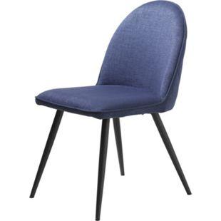 2x Esszimmerstuhl Move blau Stuhl Set Stühle Stuhl Küchenstuhl Polsterstuhl - Bild 1