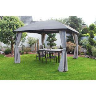Leco Pavillon Milena Dach Pergola Terrasse Garten Überdachung Sonnenschutz - Bild 1