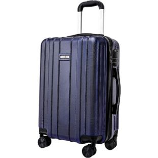 Carryone Handgepäck blau Koffer Reisekoffer Trolley Hartschale Boardcase - Bild 1