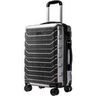 Carryone Handgepäck grau Koffer Reisekoffer Trolley Hartschale Boardcase - Bild 1