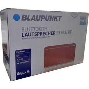 Blaupunkt BT600 rot  Akku Bluetooth Lautsprecher NFC Powerbank Musikbox Soundbox - Bild 1
