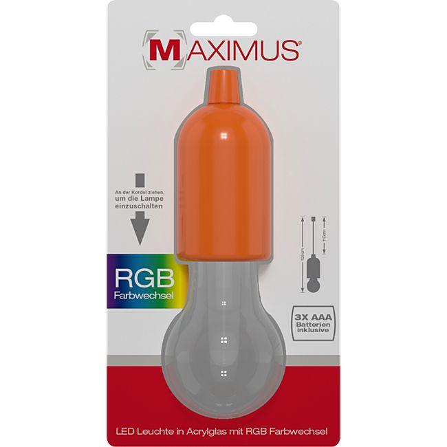 Maximus LED Bulbs Ziehlampe Farbwechsel Lampe Licht Seil Glühbirne Garten Deko - Bild 1