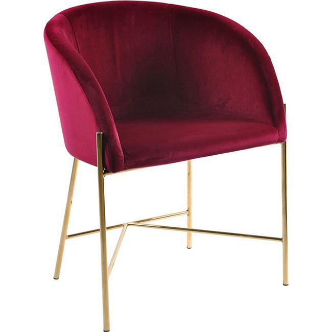 Neil Esszimmerstuhl Armlehne rot Stuhl Set Esszimmer Stühle Küchenstuhl Küche - Bild 1